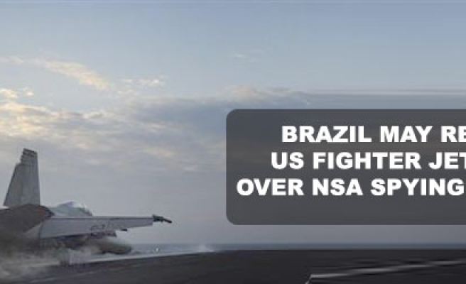 Brazil may reject US fighter jet deal over spying scandal