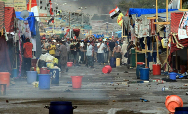 200 anti-coup protestors detained in Rabaa