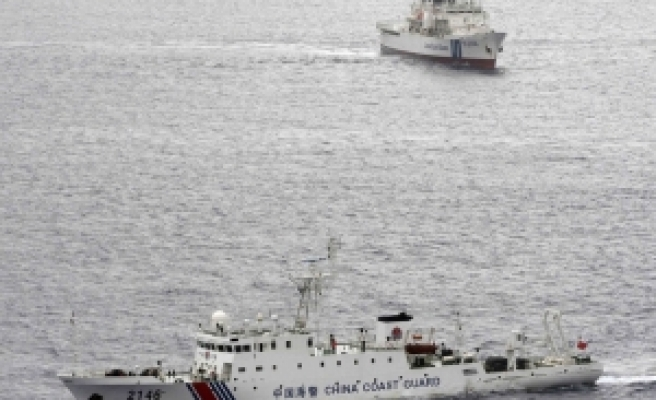 Japanese boats sail close to islands in dispute with China