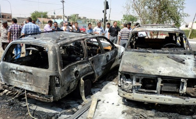 Suicide bomber hits Baghdad intelligence headquarters