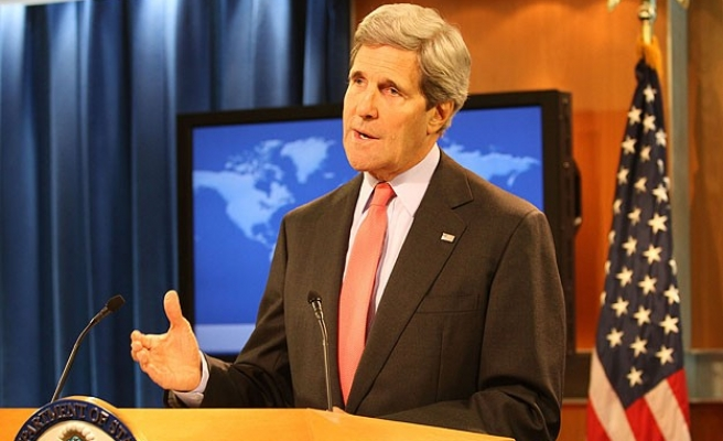 Kerry in Iraq to build coalition against ISIL -UPDATED