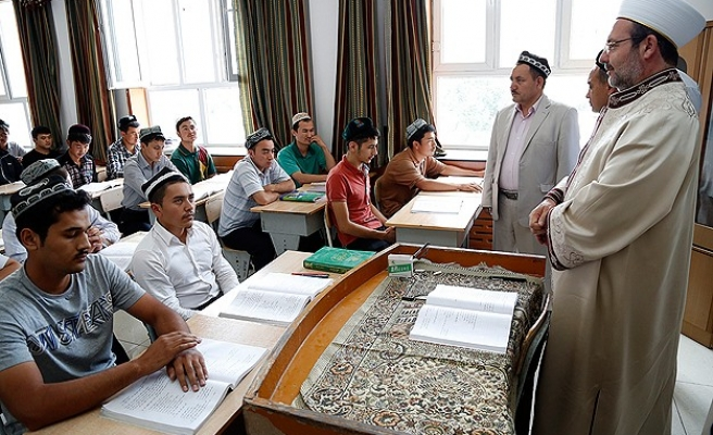 Head of Turkish Religious Affairs in China