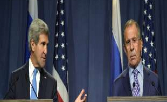 US, Russia press for Syria peace conference in November