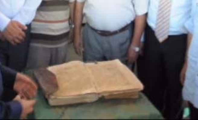 1,200-year-old Quran discovered in Bodrum