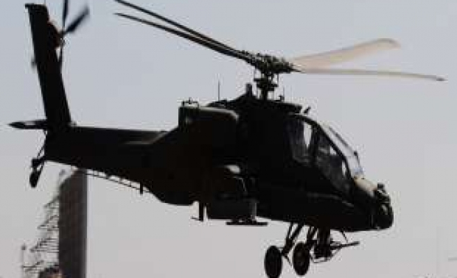 Egypt army choppers bomb Sinai targets