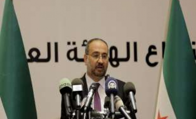 Syrian opposition elects Tomeh as prime minister