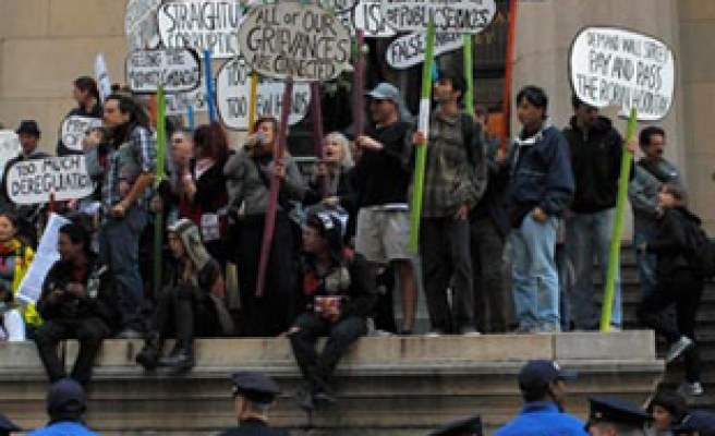 3 arrested as Occupy Wall Street marks 2nd anniversary