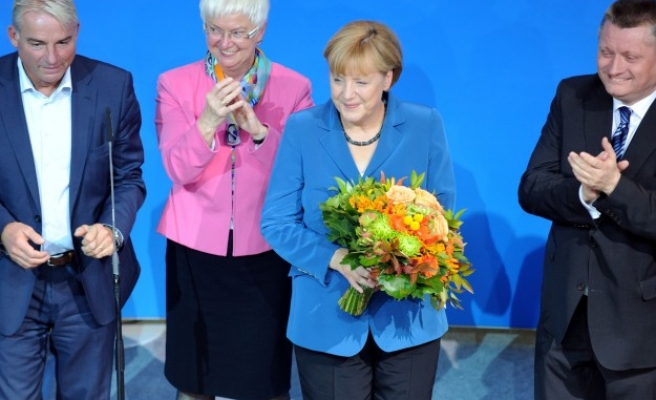 Historic victory for Germany's Merkel