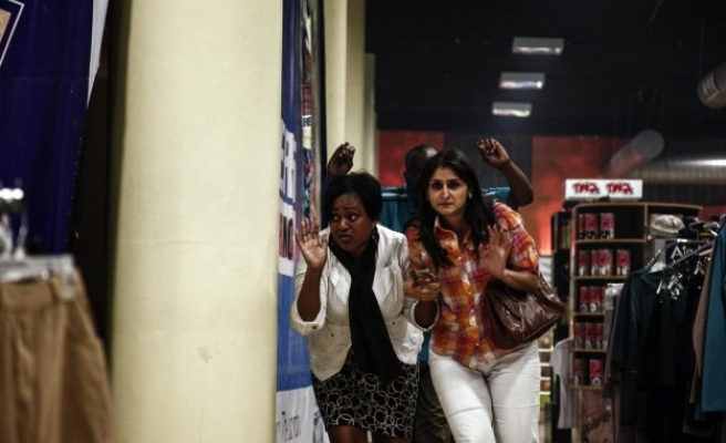 Shots fired at mall rattle Kenyans a year after Westgate