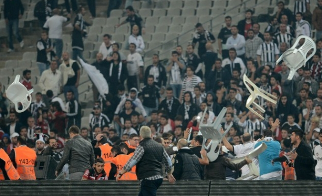 Besiktas banned for 4 matches