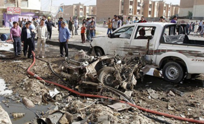 Blast in Iraq's Kurdish north killed 12