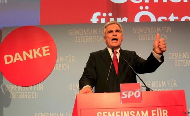 Early poll results show Social Democrats' victory in Austria