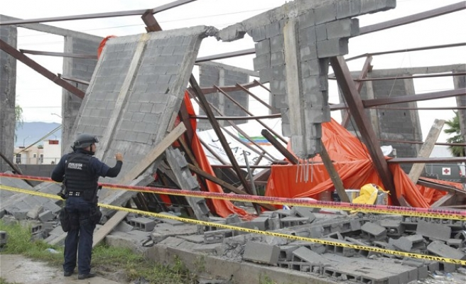 Church collapse in northern Mexico
