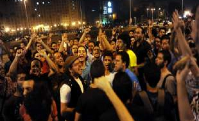 Anti-coup activists in rare Tahrir Square protest