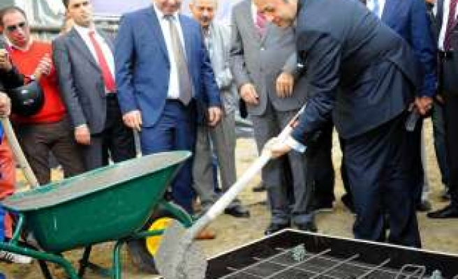 Groundbreaking ceremony of a mosque in Belgium