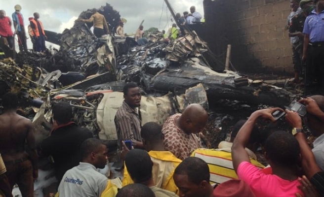 18 dead as aircraft crashes in Nigeria's Lagos-UPDATED