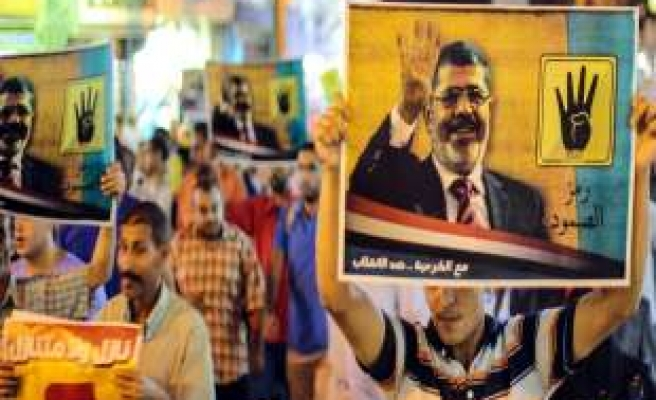 2 parties step out of Egypt's pro-Morsi bloc