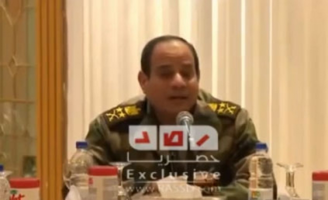 Egypt's top general calls army 'unbreakable'