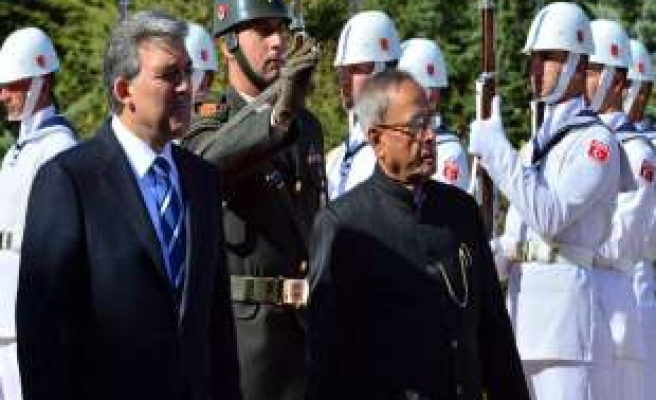 Turkey looks for enhanced cooperation with India