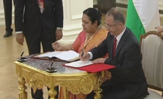 Turkey, India sign cooperation agreement