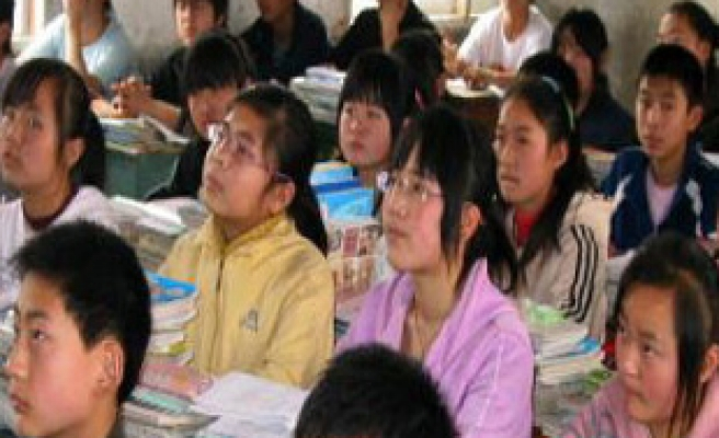 China to segregate sexes at schools