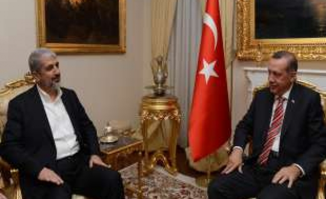 Turkish PM meets with leader of Hamas