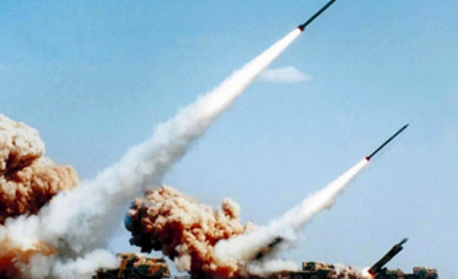 Turkish army tests its new missile system
