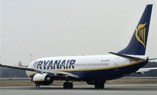 Ryanair says first-half profits hit partly by Brexit