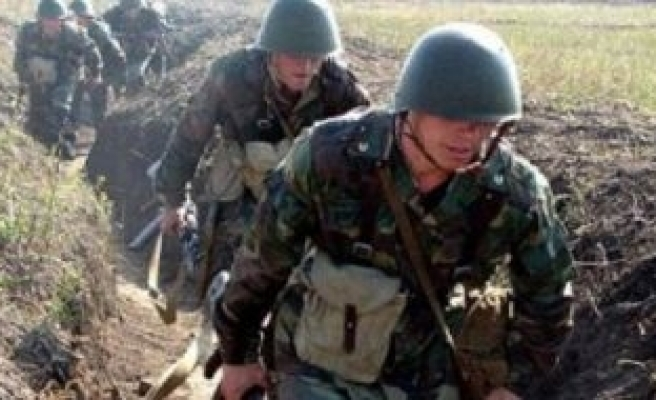 Armenia violates ceasfire at several points