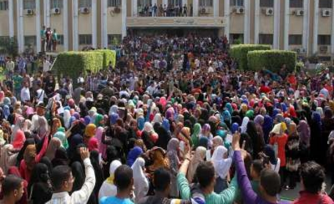 Anti-coup students call for 'uprising' in Azhar University