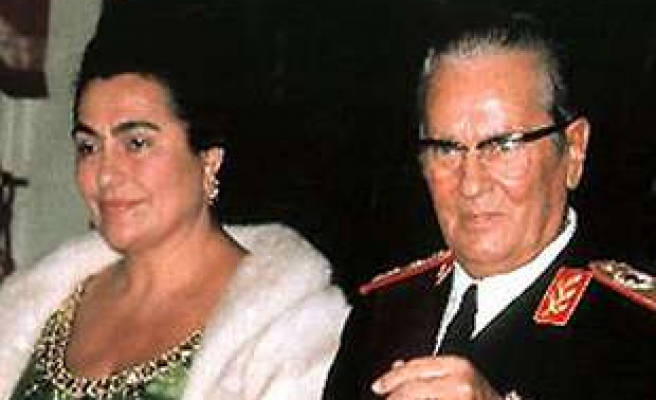 Former Yugoslav first lady to be buried next to Tito