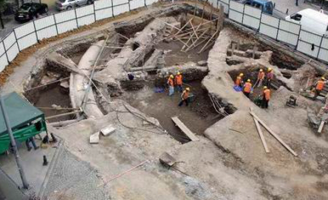 History uncovered during Marmaray tunnel construction