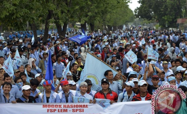 Indonesia national strike fizzles
