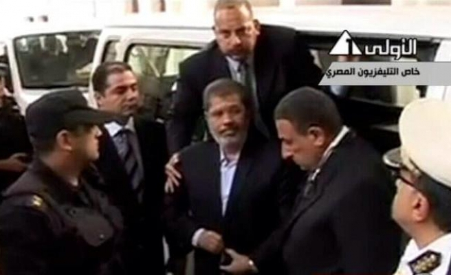 Morsi's footage released for first time since coup