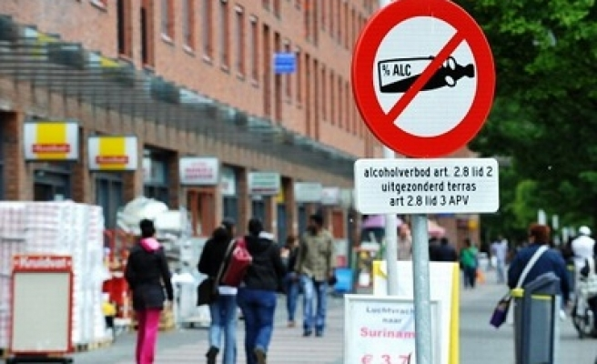 Alcohol ban in Amsterdam