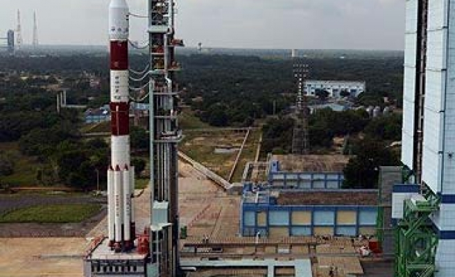 India's first Mars mission blasts off