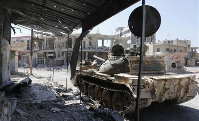 Syria army takes control of strategic Qara town