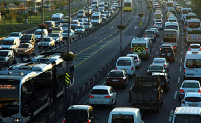 Istanbul second worst city for traffic congestion