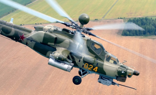 Iraq takes collection of first 4 Russian helicopter gunships