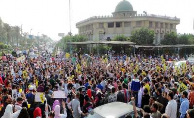 Protest call for release of prisoners in Egypt