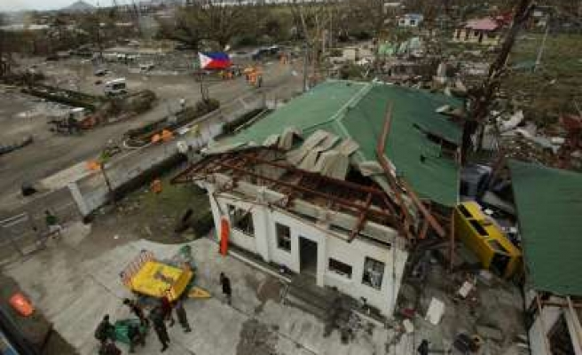 Generators to light streets of Philippine typhoon zone