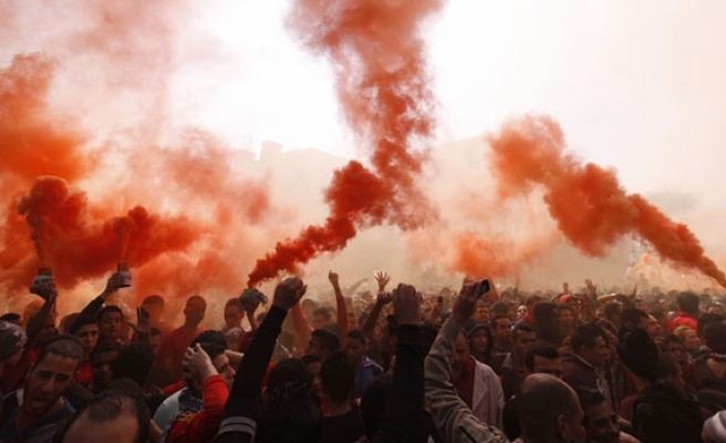 Egyptian police fire teargas at Ahly fans