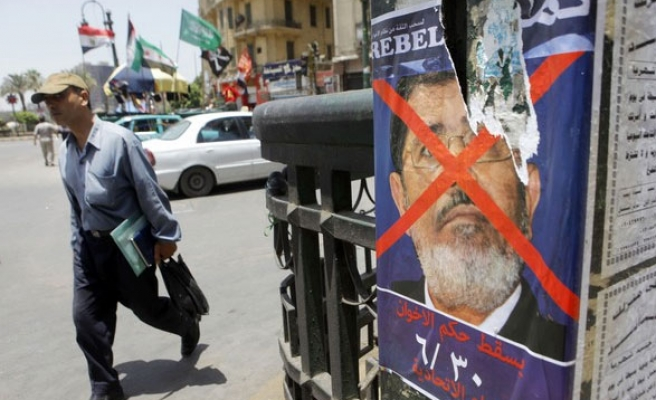 Egypt body rejects plea by anti-Morsi group to form party