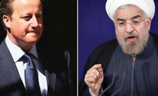 Cameron makes historic phone call to Rouhani