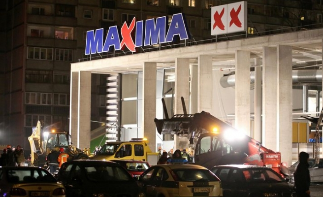 12 dead after Latvia supermarket roof collapse