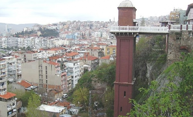 Turkey's 100-year-old elevator