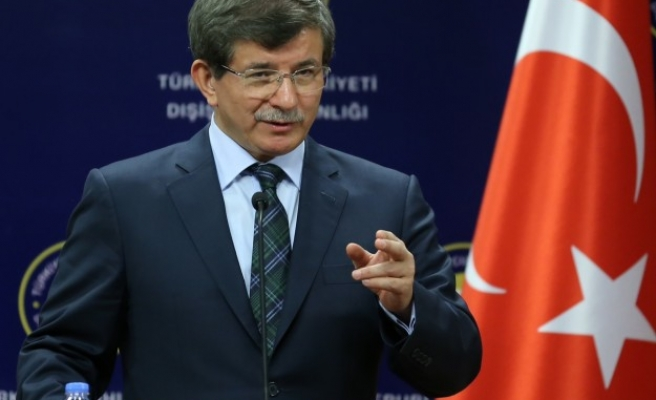 Turkish PM says Israel's Netanyahu on par with Paris attackers -UPDATED