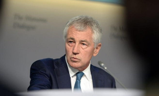 Hagel aims to put diplomacy ahead of military might