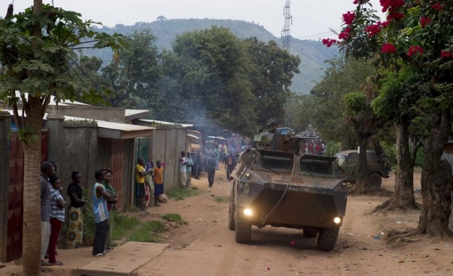 Christian militants, peacekeepers scuffle in CAR