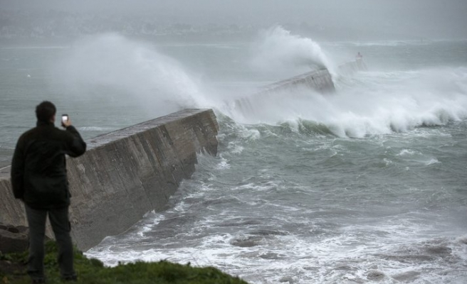 North and west France on storm alert